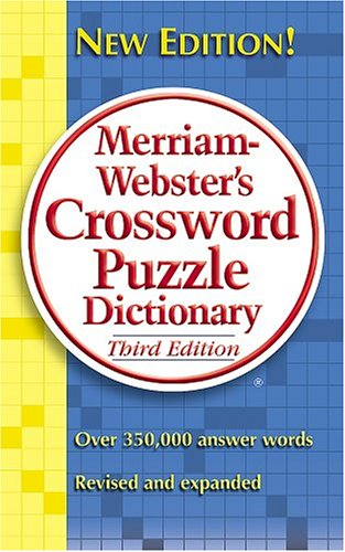 Image For M-W Crossword<br>Puzzle Dictionary