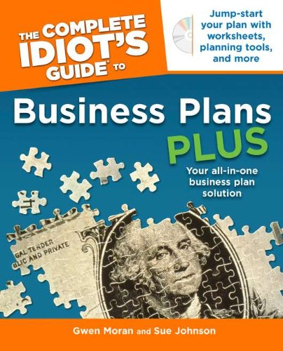 Image For The Complete Idiot's<br>... Business Plans<br>w/ CD-ROM