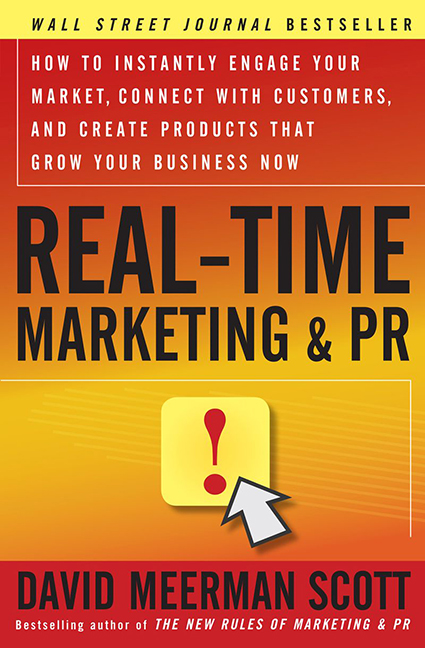 Image For Real-Time<br>Marketing and PR<br>David Meerman Scott