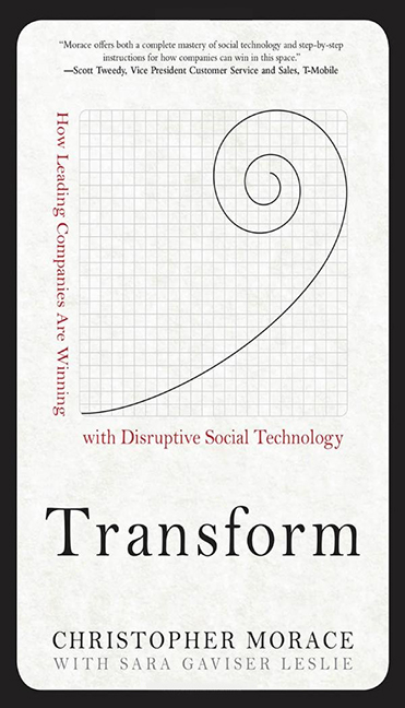 Image For Transform<br>Christopher Morace<br>Hardcover