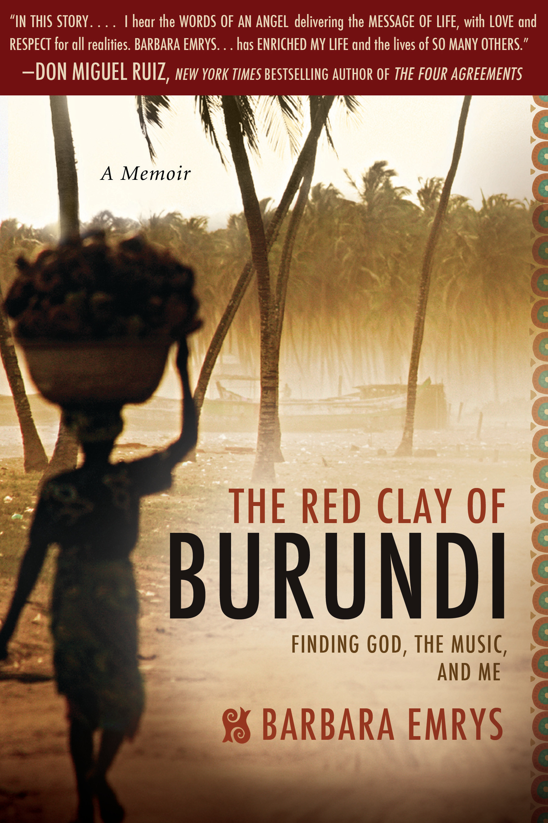 Image For The Red Clay<br>of Burundi<br>Barbara Emrys