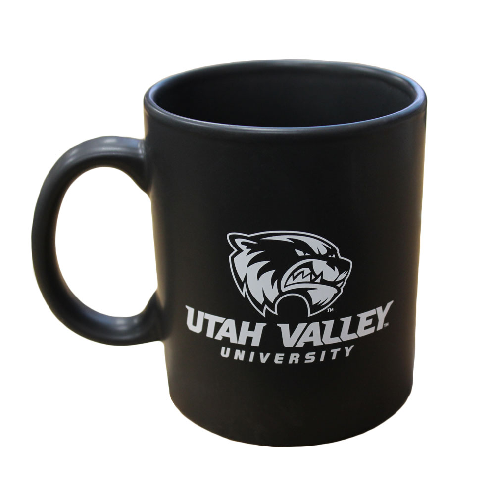 Image For Matte Black Wolverine Mug