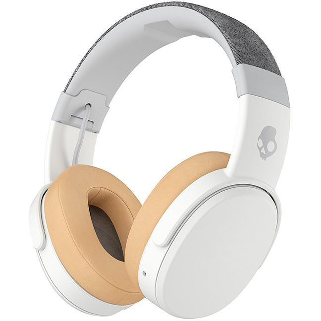 Image For Skullcandy Crusher<br>Bluetooth Headphones<br>Gray/Tan