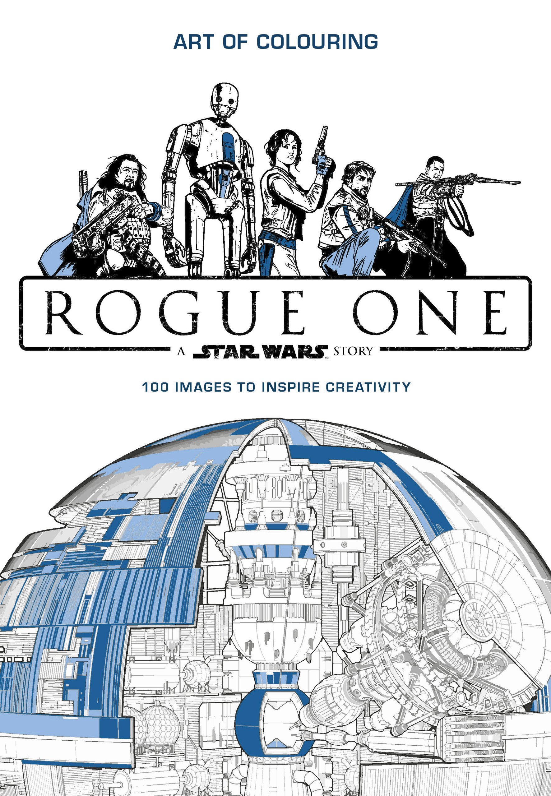 Image For Star Wars Rogue One<br>Art of Coloring