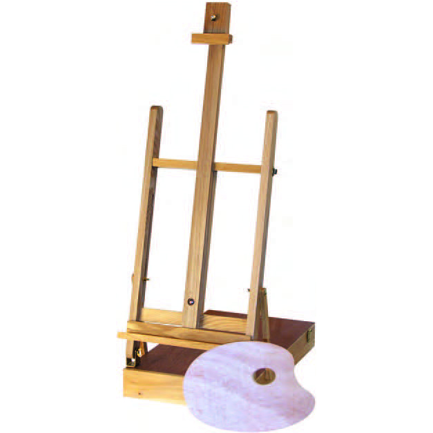 Image For H-Frame Beech<br>Table Easel<br><b>60% Off</b>