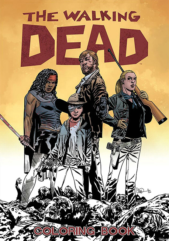 Image For The Walking Dead<br>Coloring Book