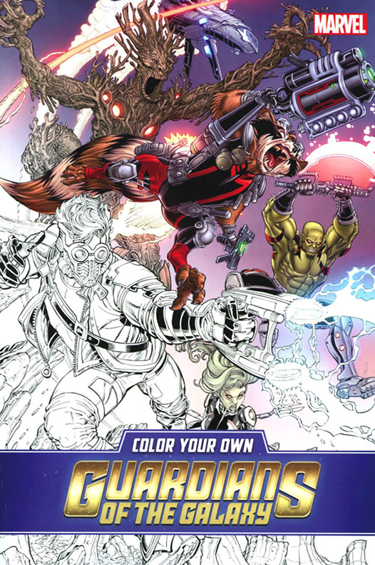 Image For Color Your Own<br>Guardians of the Galaxy