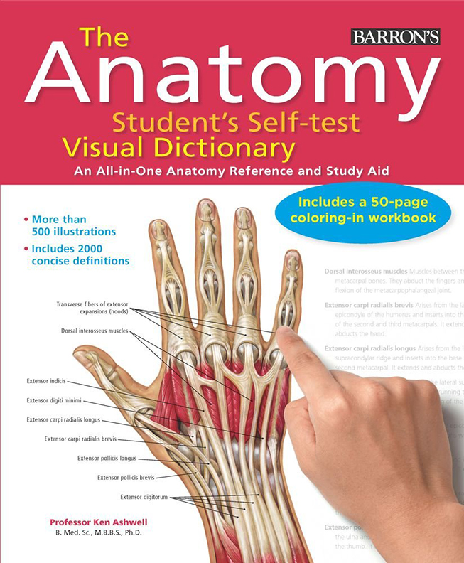 Image For The Anatomy Student's<br>Self-Test<br>Visual Dictionary