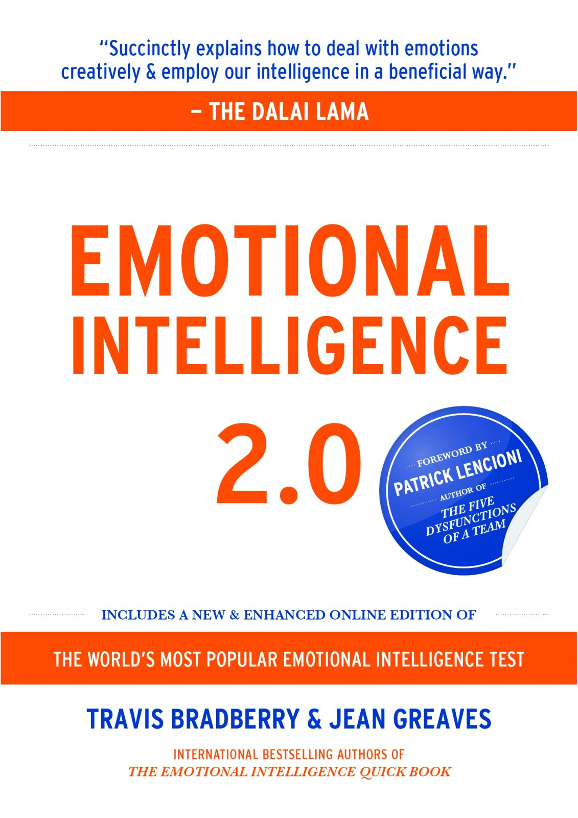 Image For Emotional Intelligence 2.0<br>Travis Bradberry