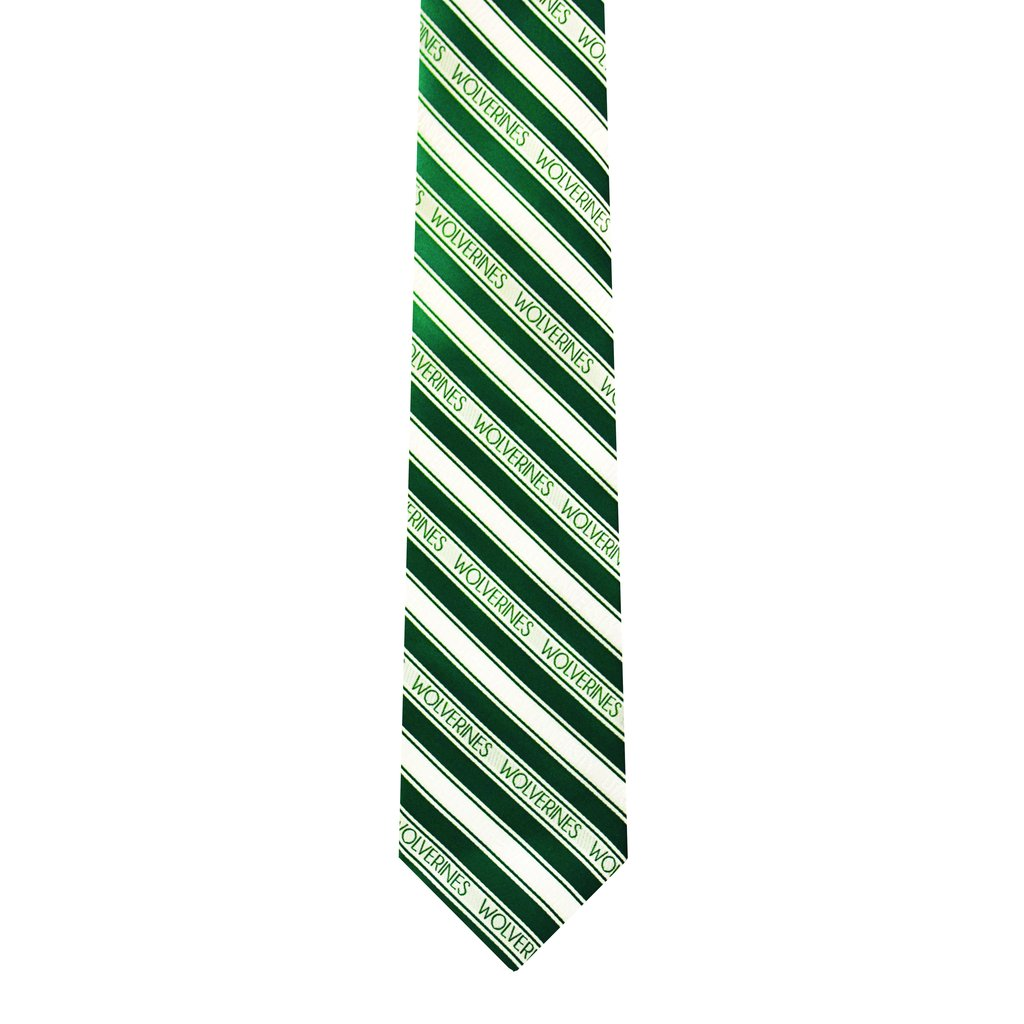 Image For Green and White Striped<br>Utah Valley Wolverines