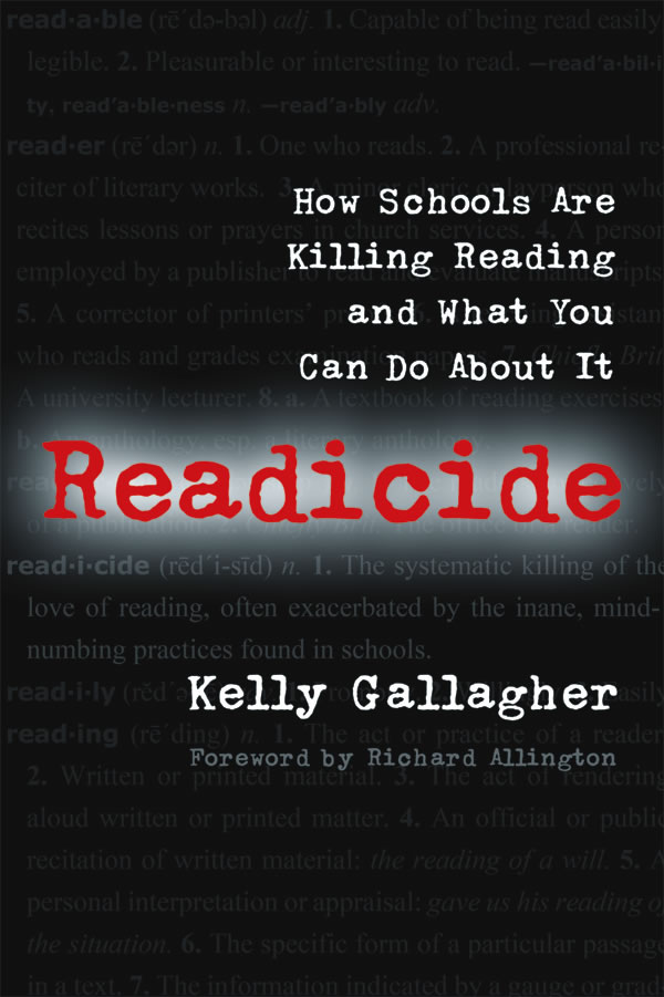 Image For Readicide<br>Kelly Gallagher