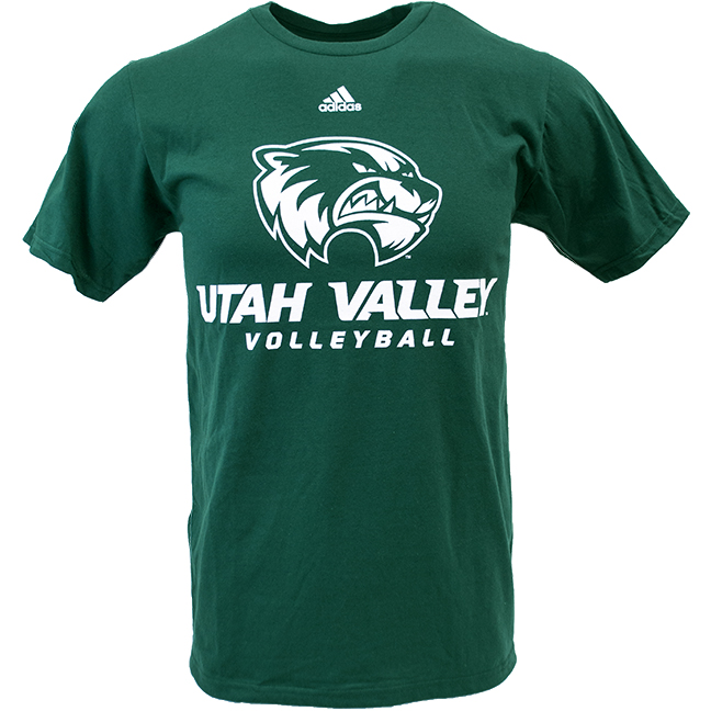 Image For Wolverines Volleyball<br>Adidas Tee
