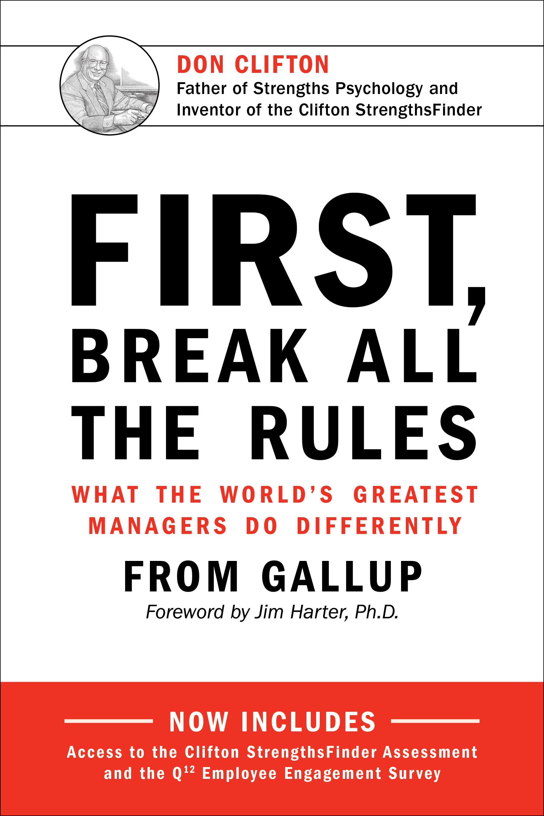 Image For First, Break All the Rules<br>Gallup