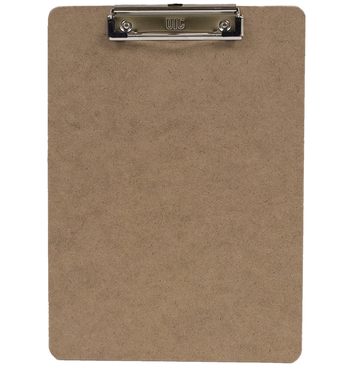 Image For Wooden Clipboard