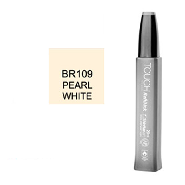 Cover Image For Touch Twin<br>Refill Ink<br>BR109 Pearl White