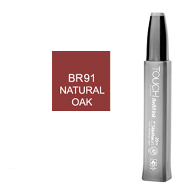 Image For Touch Twin<br>Refill Ink<br>BR91 Natural Oak