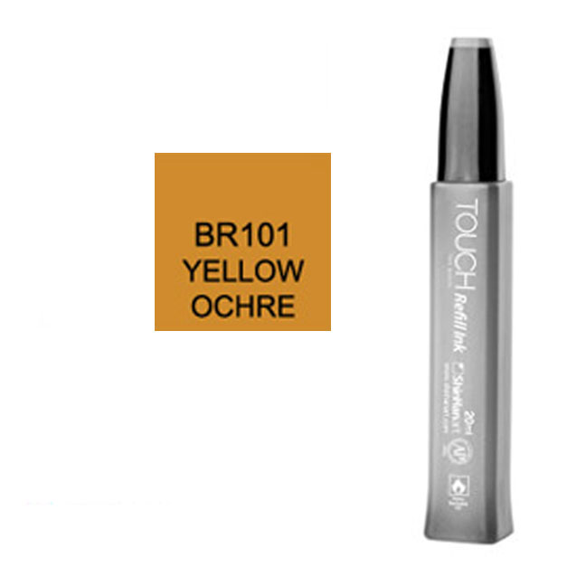 Image For Touch Twin<br>Refill Ink<br>BR101 Yellow Ochre