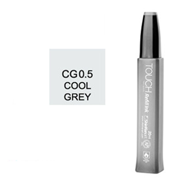 Image For Touch Twin<br>Refill Ink<br>CG0.5 Cool Grey
