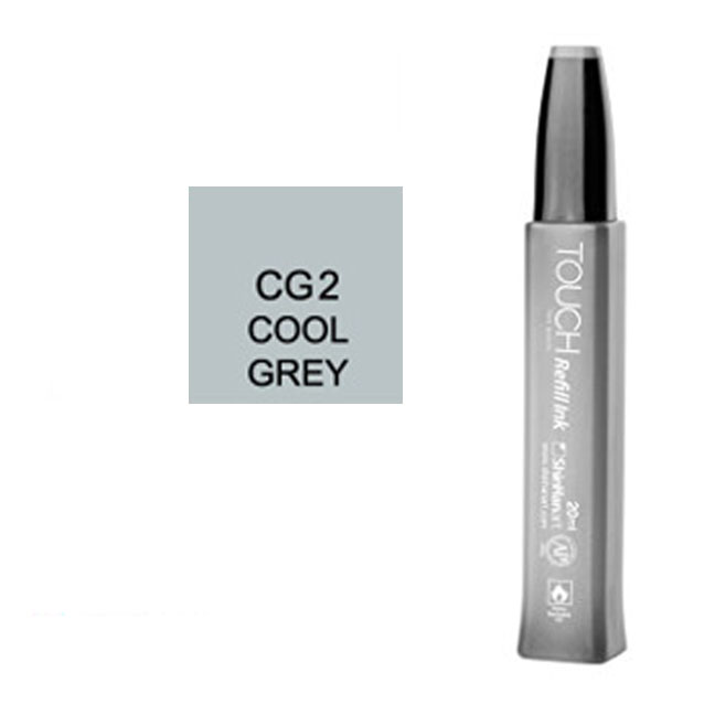 Image For Touch Twin<br>Refill Ink<br>CG2 Cool Grey