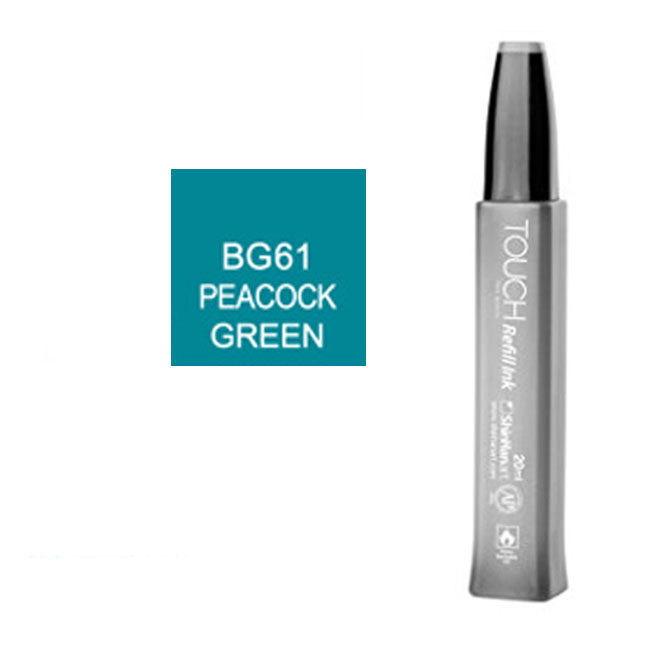 Image For Touch Twin<br>Refill Ink<br>BG61 Peacock Green