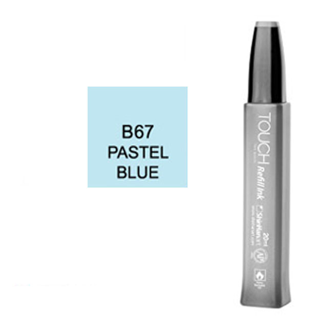 Image For Touch Twin<br>Refill Ink<br>B67 Pastel Blue