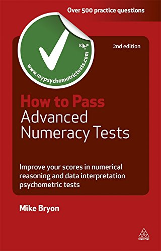 Image For How to Pass<br>Advanced Numeracy Tests