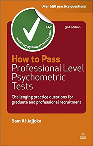 Cover Image For How to Pass<br>Professional Level<br>Psychometric Tests