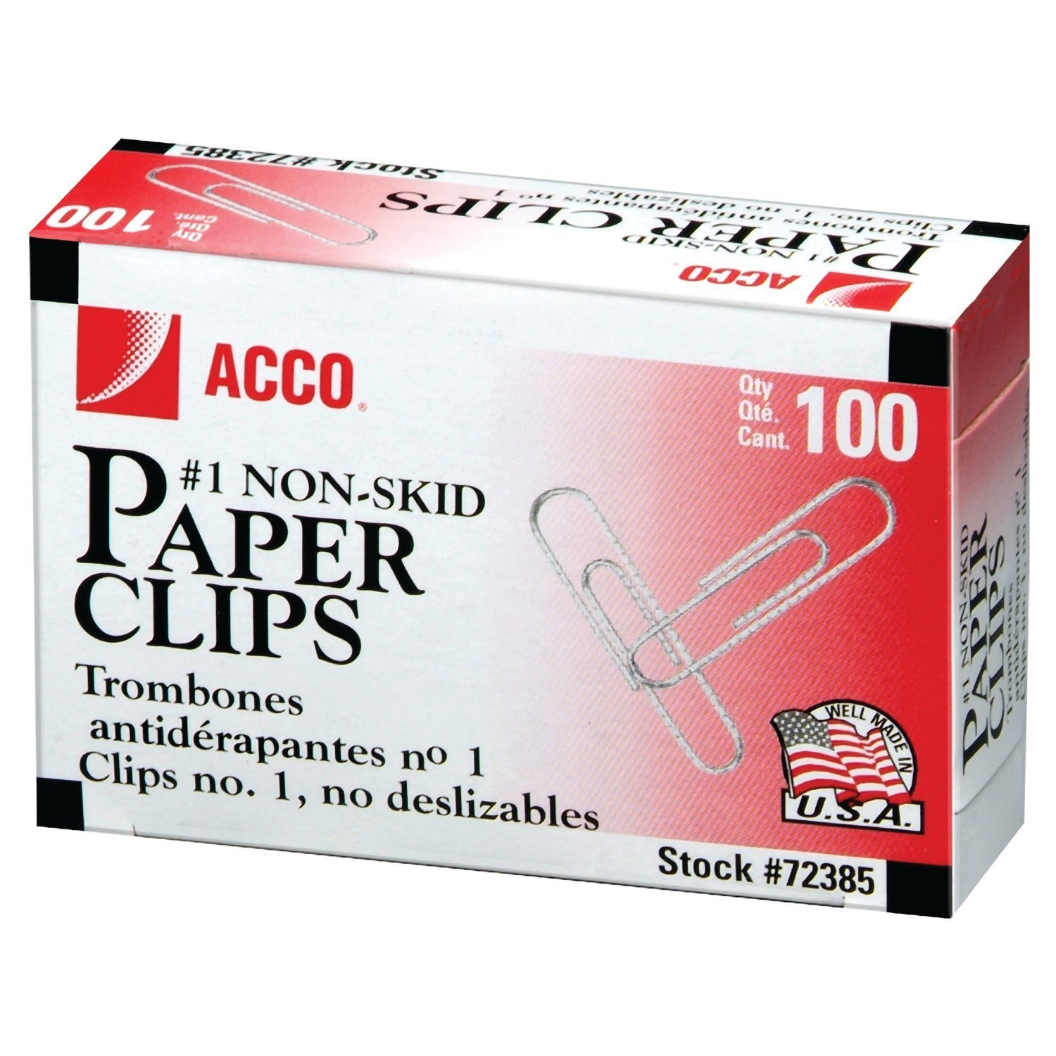 Cover Image For ACCO Paper Clips