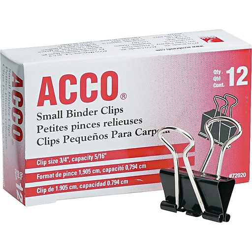 Image For ACCO Binder Clips