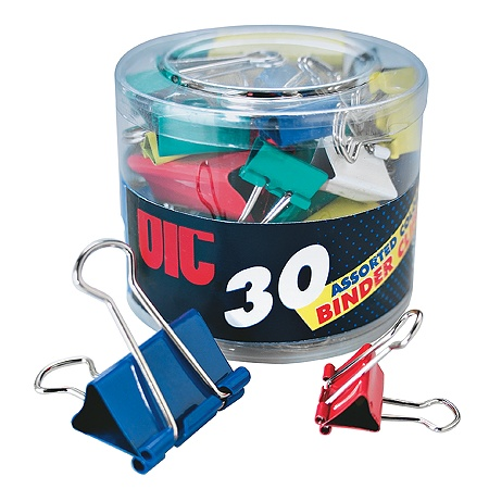 Image For OIC Assorted Binder Clips