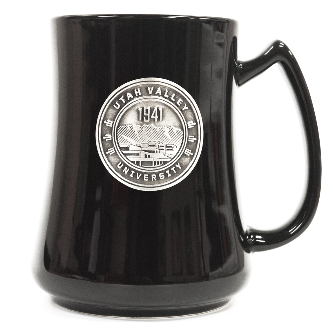 Image For Black University Seal<br>Ceramic Mug