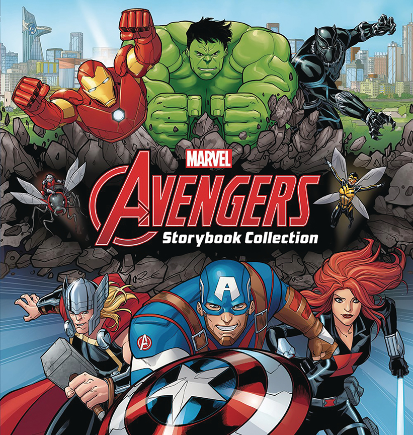 Image For Avengers<br>Storybook Collection