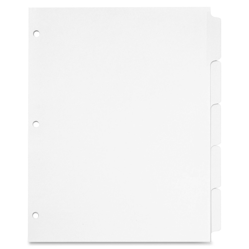 Image For 5 TAB Write 'n Erase Dividers
