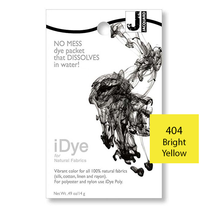 Image For iDye Fabric Dye - Bright Yellow