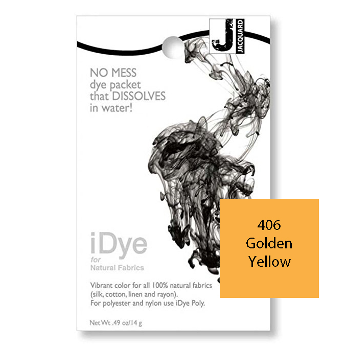 Image For iDye Fabric Dye - Golden Yellow
