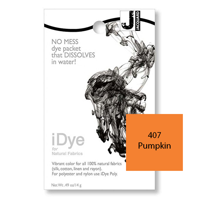 Image For iDye Fabric Dye - Pumpkin
