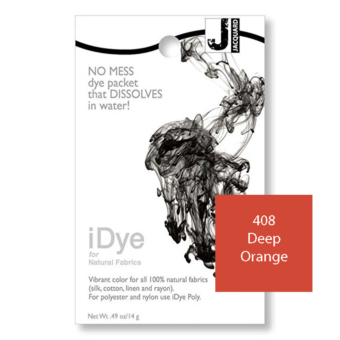 Image For iDye Fabric Dye - Deep Orange
