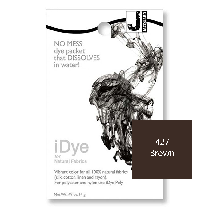 Image For iDye Fabric Dye - Brown