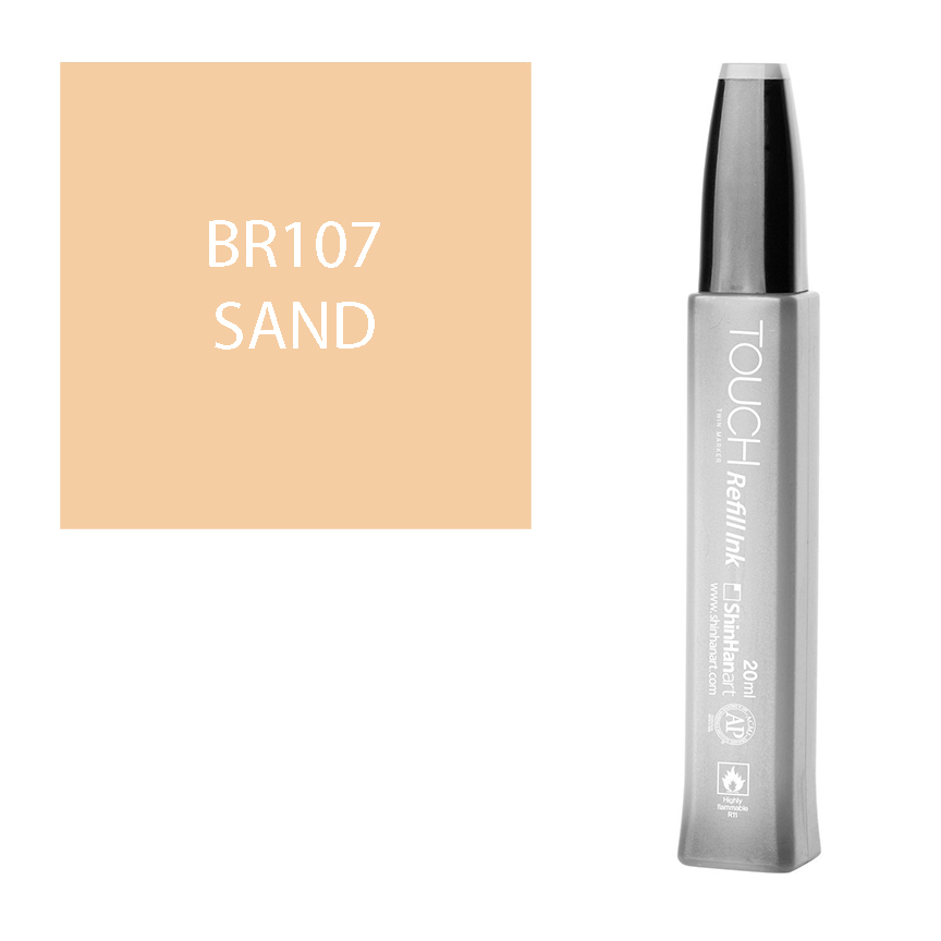Image For Touch Twin<br>Refill Ink<br>BR107 Sand