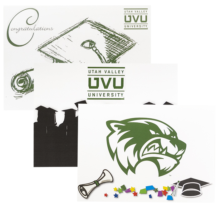 Image For UVU Graduation Cards