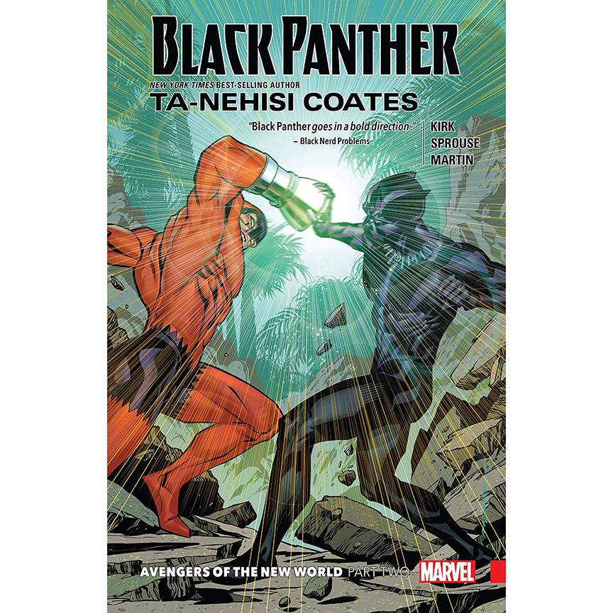 Image For Black Panther, Book 5:<br> Avengers of the New World Part 2