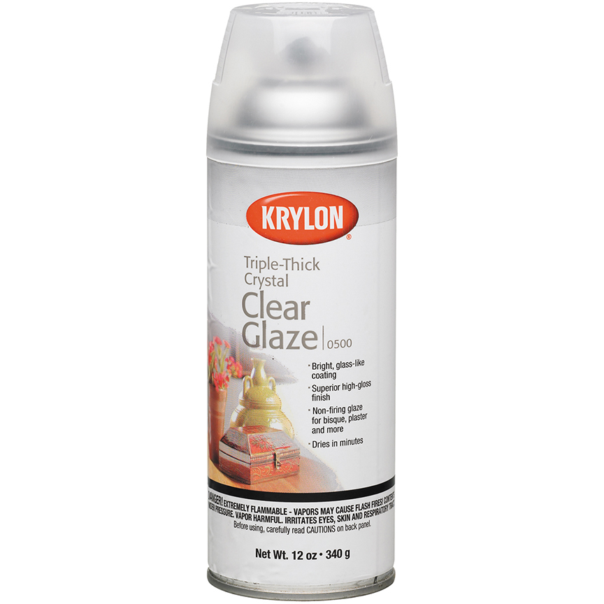 Image For Krylon Triple Thick Clear Glaze<br>12-oz Aerosol Spray