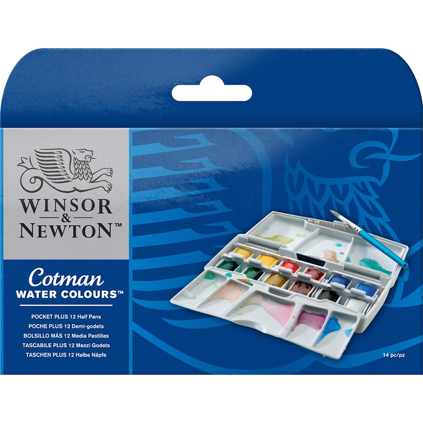 Image For Winsor & Newton<br>Water Colours Pocket Plus