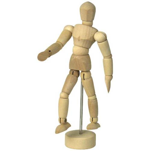 "Image For 4 ½""<br>Male Mannequin"