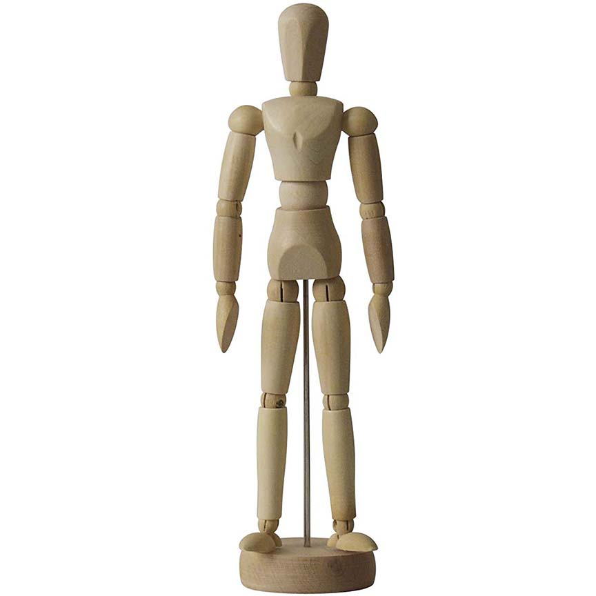 "Image For AA 8 ½""<br>Male Mannequin"