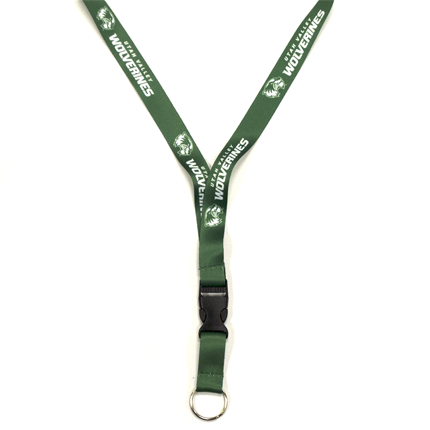 Image For Green Slide Release Lanyard