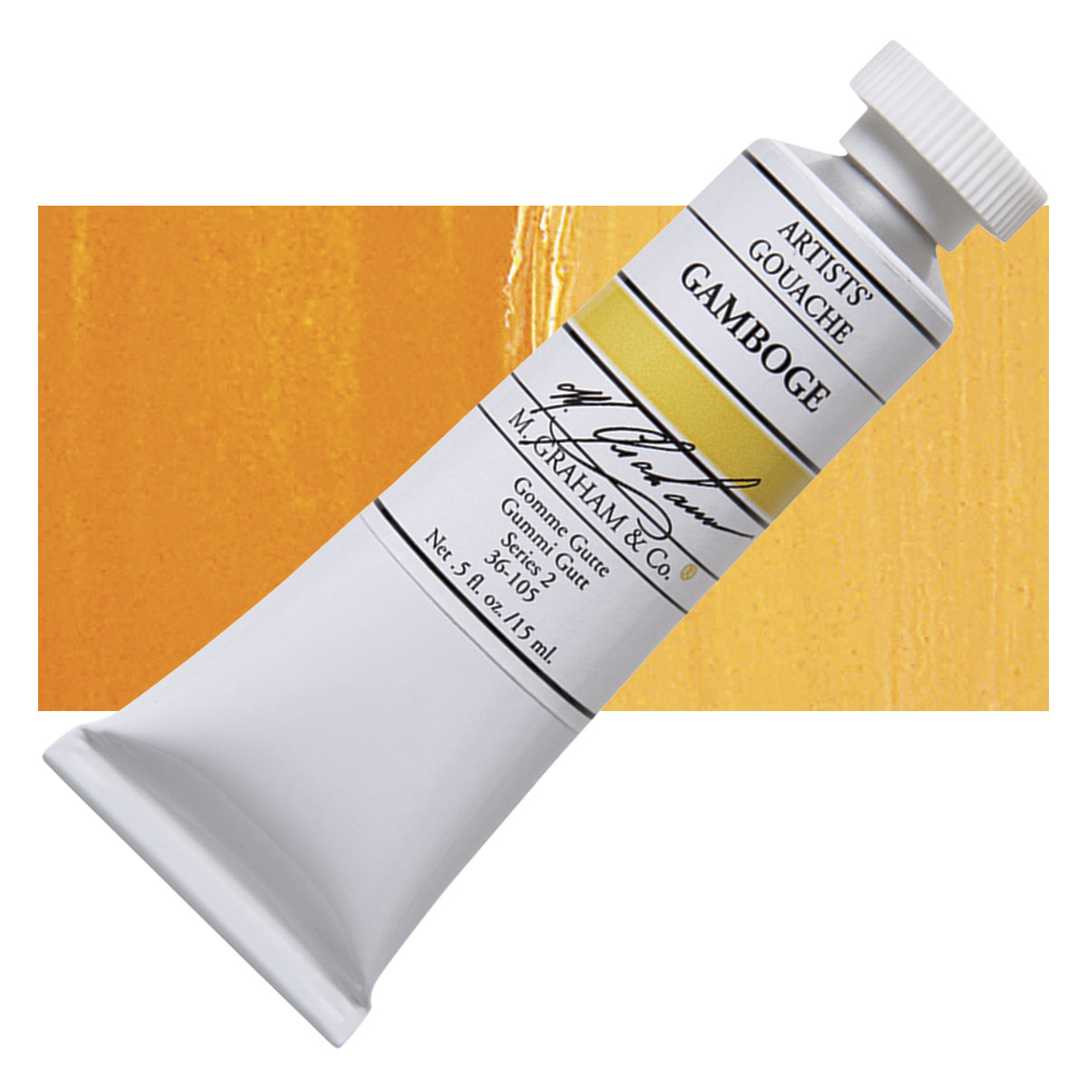 Image For M. Graham<br>Gouache<br>Gamboge<br>0.5oz
