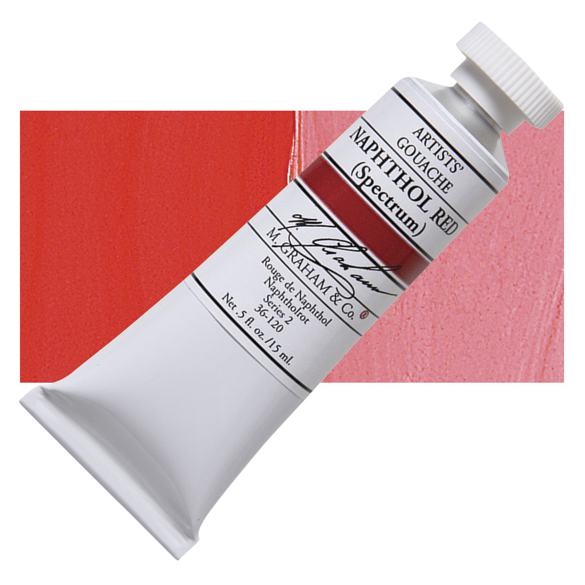 Image For M. Graham<br>Gouache<br>Naphthol Red<br>0.5oz