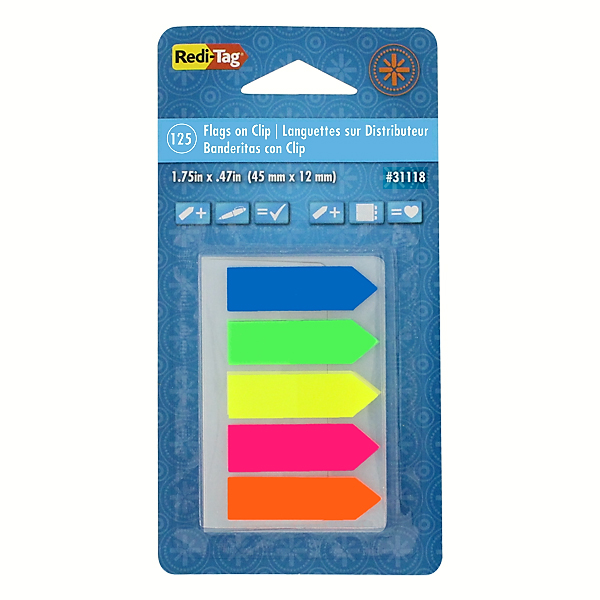 Image For Redi-Tag Flags on a Clip