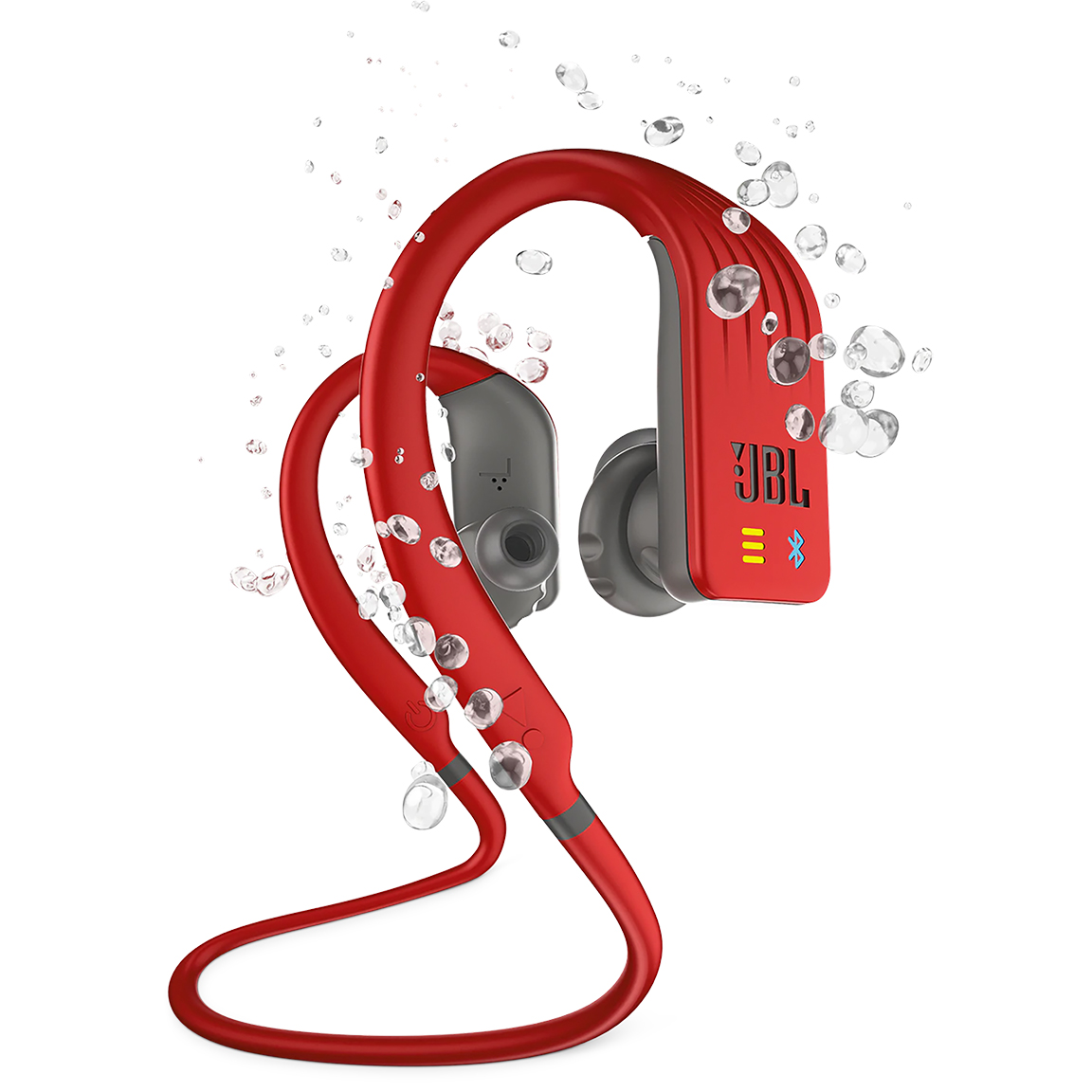 Image For JBL Endurance Dive<br>Headphones with Built in Mp3<br>Red